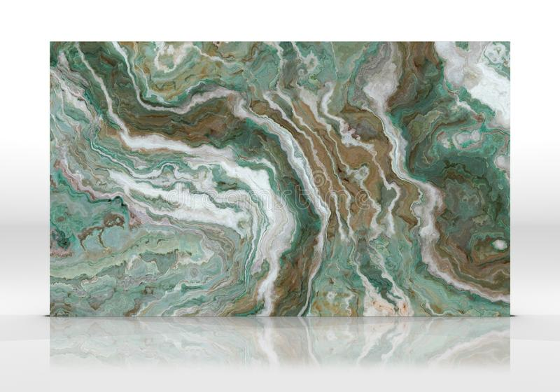 Green marble Tile texture royalty free illustration