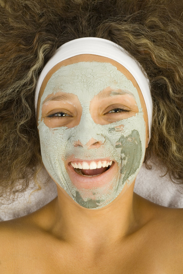 Download Green mask stock image. Image of lifting, lying, beautiful - 3216291