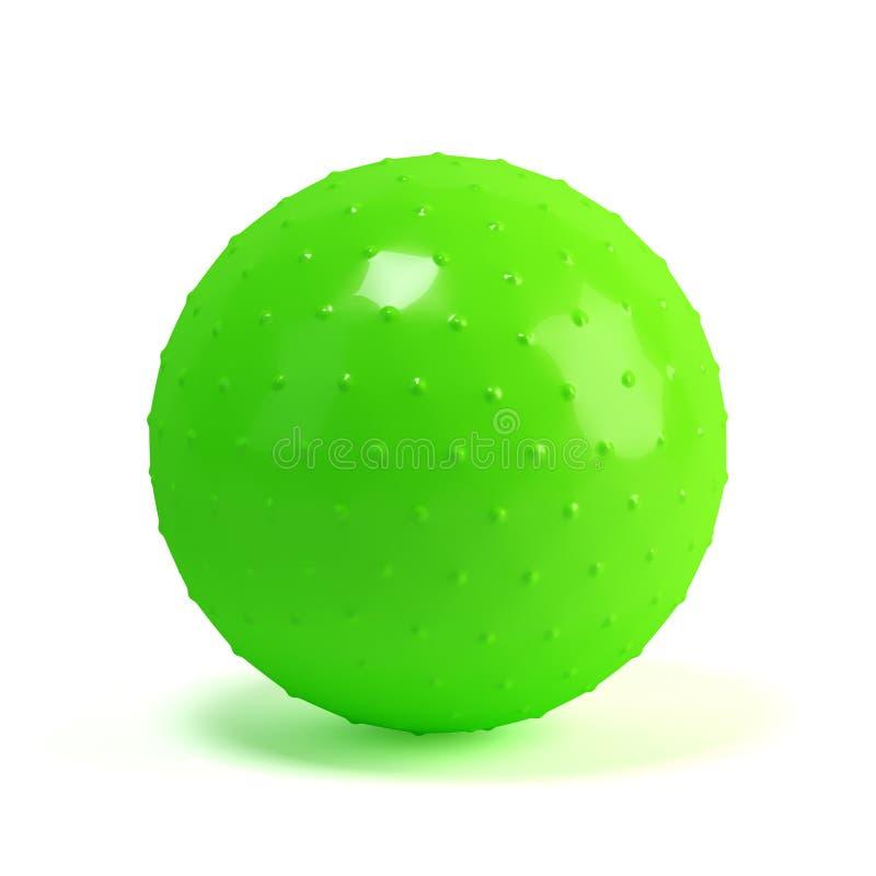 Free Green Massage Fit-ball Stock Photography - 43233532