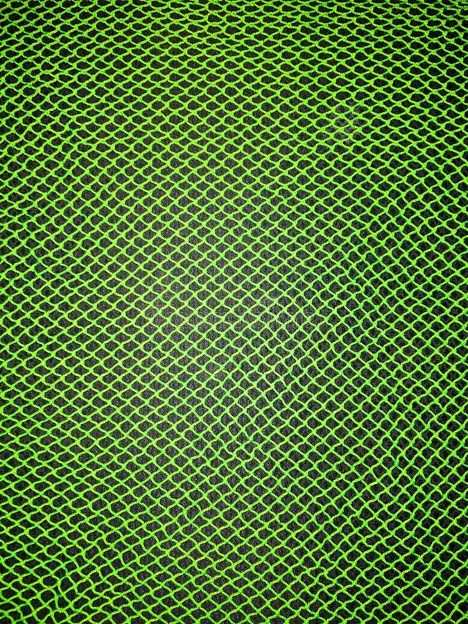 Green mesh patterns stock image