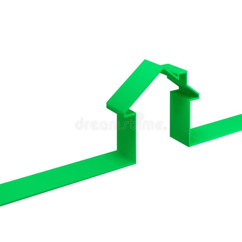 Free Green Metaphot House Stock Image - 5270851