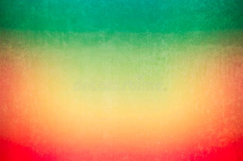 Green mix red grunge stain texture with gradient colors shade vintage filter retro light leak style. Grunge stain texture with gradient colors shade vintage royalty free stock images