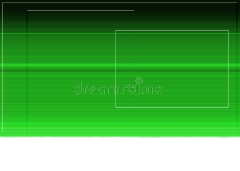 Green modern abstract royalty free stock photography