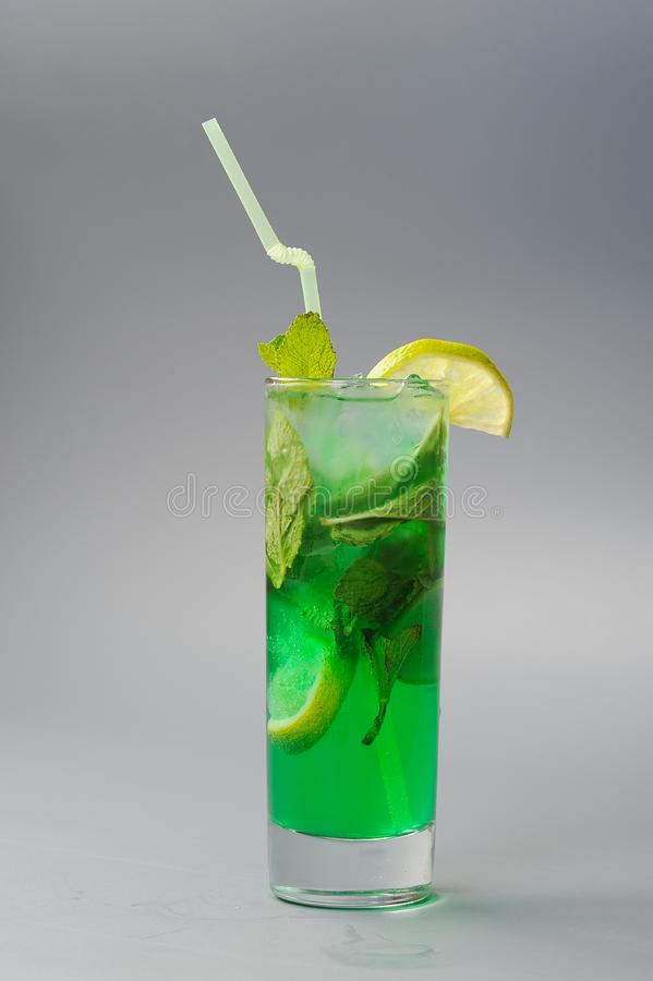 Green mojito stock images