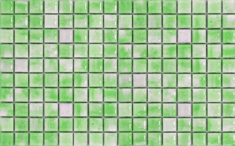 Green mosaic stock photos