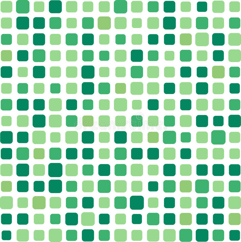 Free Green Mosaic Background Stock Photos - 9611903