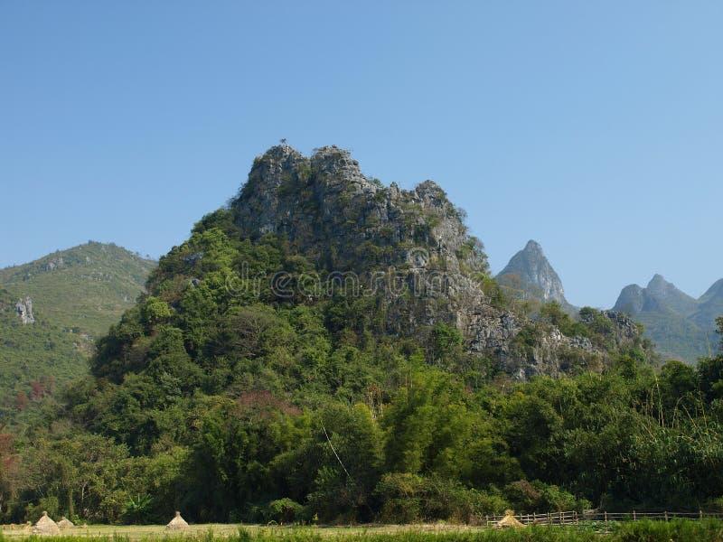 Download Green mountain stock image. Image of guilin, landform - 14860141