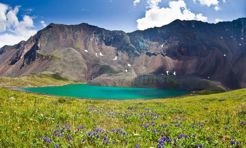 Green Mountain Lake Stock Image