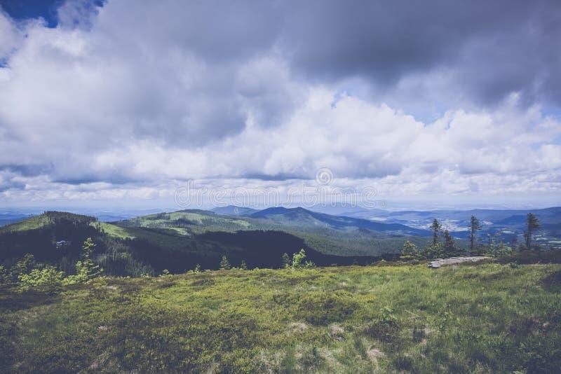 Green Mountain Under Blue Sky royalty free stock photo