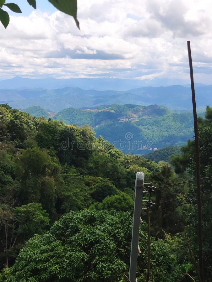 Green Mountain View Chiang Mai, Thailand royalty-vrije stock afbeelding