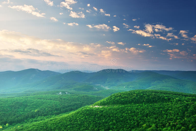 Download Green mountains hills stock image. Image of outdoor, pasture - 15442481