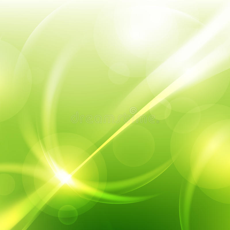 Green natural abstract technology backgrounds royalty free illustration