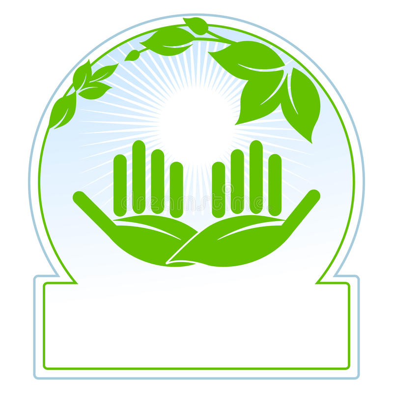 Download Green nature conservation stock vector. Image of background - 14866023