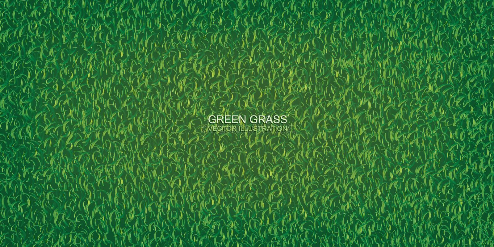 Green nature lawn grass texture and pattern for background. Vector. Green nature lawn grass texture and pattern for background. Vector illustration stock illustration