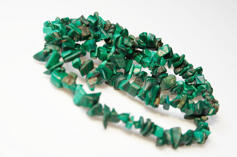Download Green necklace 02 stock image. Image of jewel, beads, style - 605387