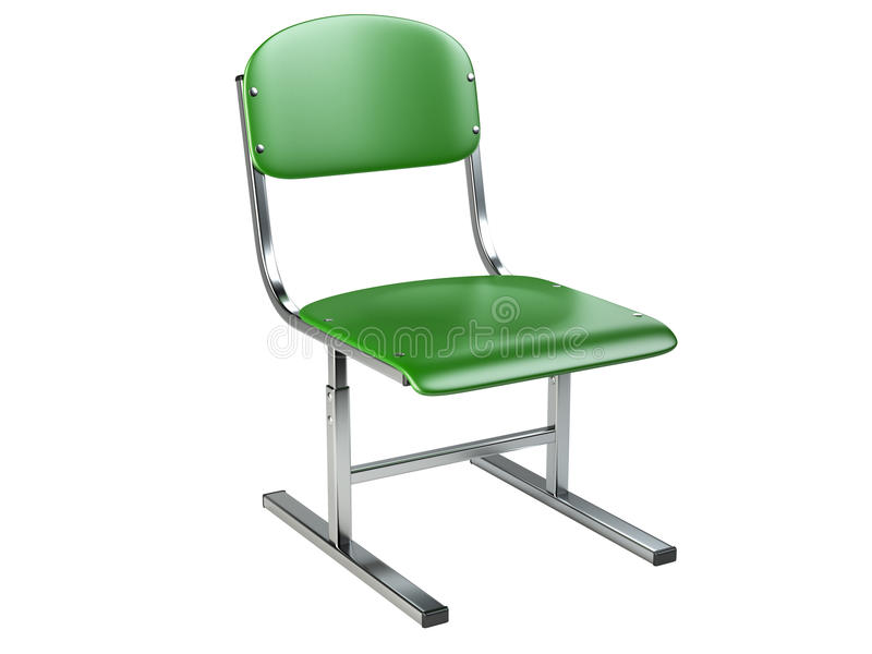 The green office chair. royalty free illustration