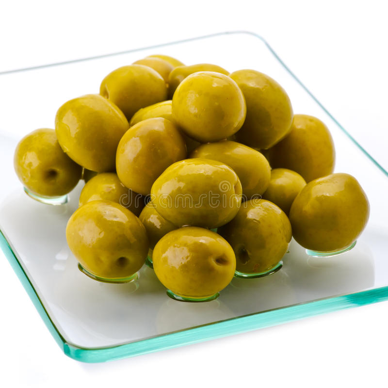 Download Green olives stock image. Image of freshness, pitted - 25746945