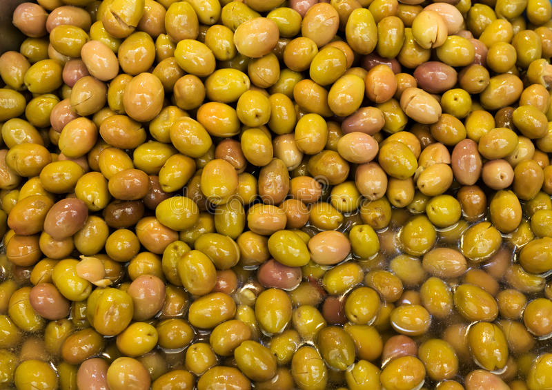Green olives, background royalty free stock photos