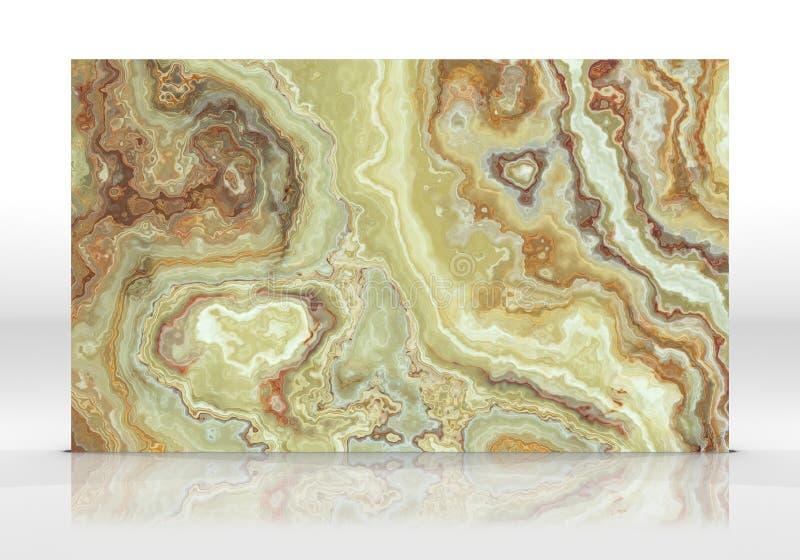 Green onyx marble Tile texture stock illustration
