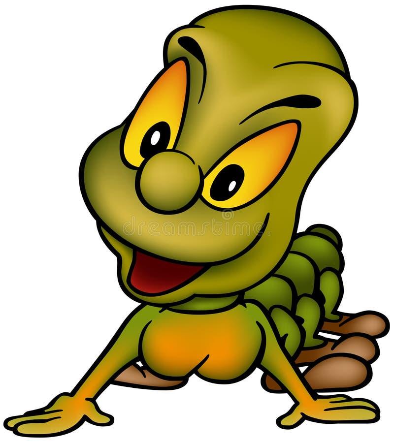 Green-orange Worm