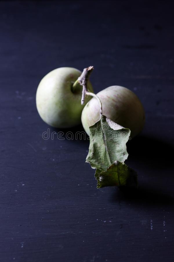 Organic natural fresh apples fruits royalty free stock image