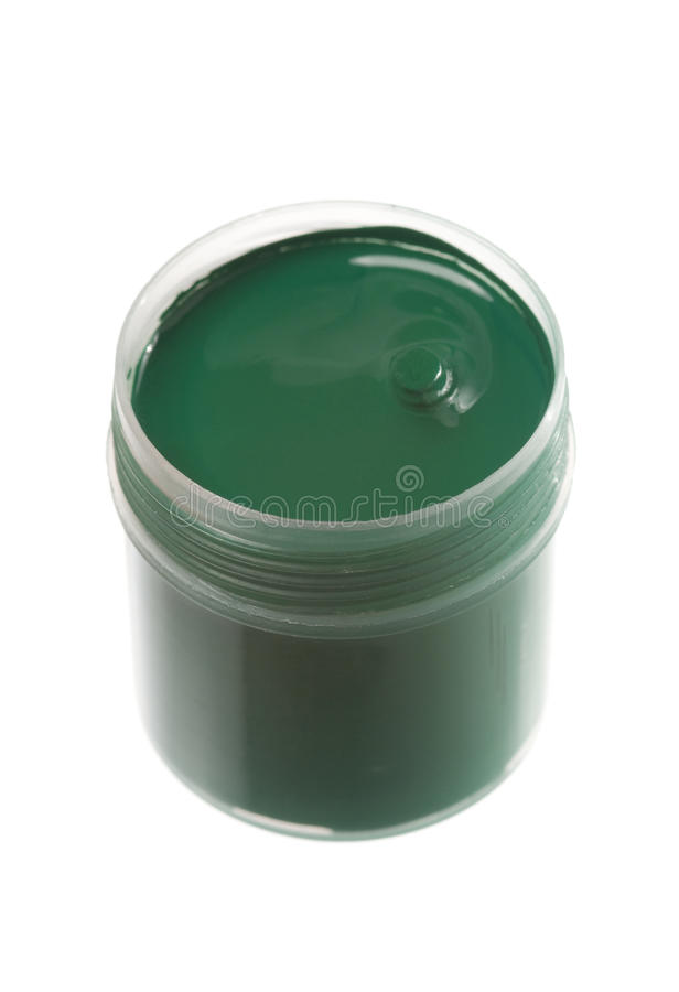 Download Green paint stock image. Image of decorative, craft, shiny - 12118877