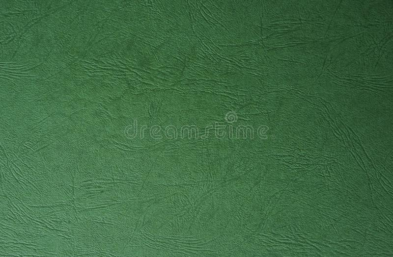 Green paint leather texture . Useful for abstract background with copy space. royalty free stock photography