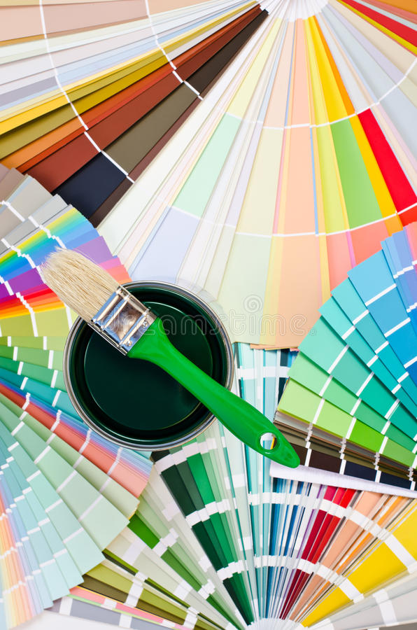 Download Green Paint Sample. Stock Photography - Image: 33583322