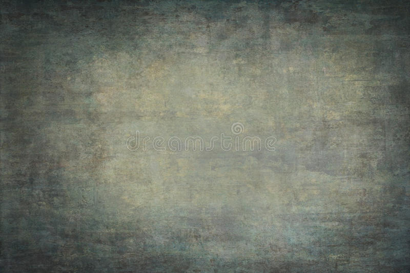 Green painted canvas or muslin backdrop. Green painted canvas or muslin fabric cloth studio backdrop royalty free stock photo