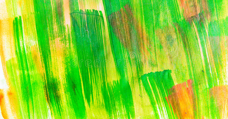 Green painted texture vector illustration