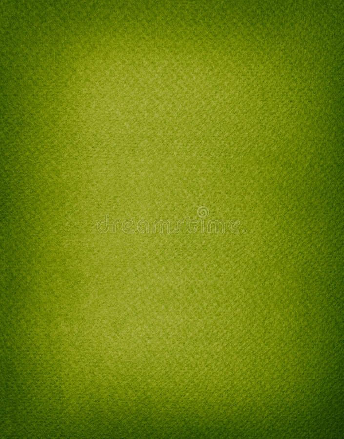 Green Paper Background With Dark Borders Stock Photo