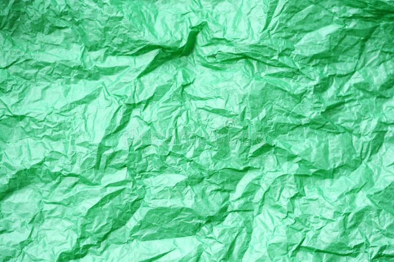 Green paper toss background. Green paper toss - abstract background royalty free stock photo