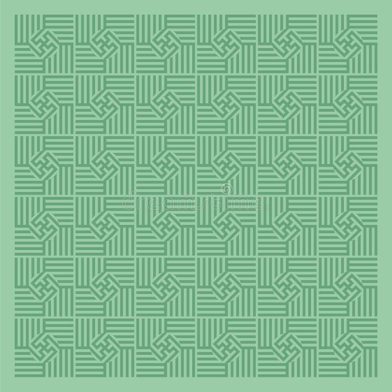 Green pattern stock image
