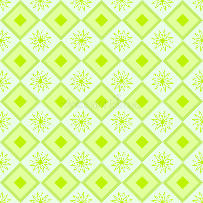 Download Green Pattern For Background With Flowers Stock Vector - Image: 31594175