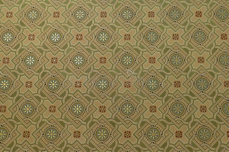 Green, Pattern, Textile, Wallpaper stock photography