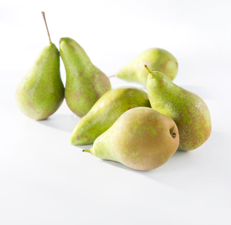 green pears royaltyfria foton