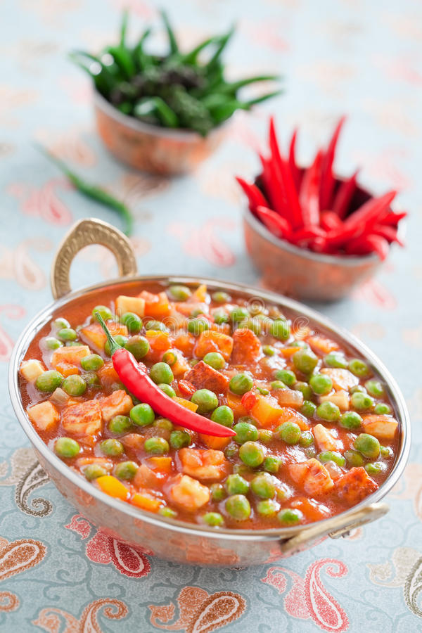 Free Green Peas And Paneer Stock Photo - 22743280