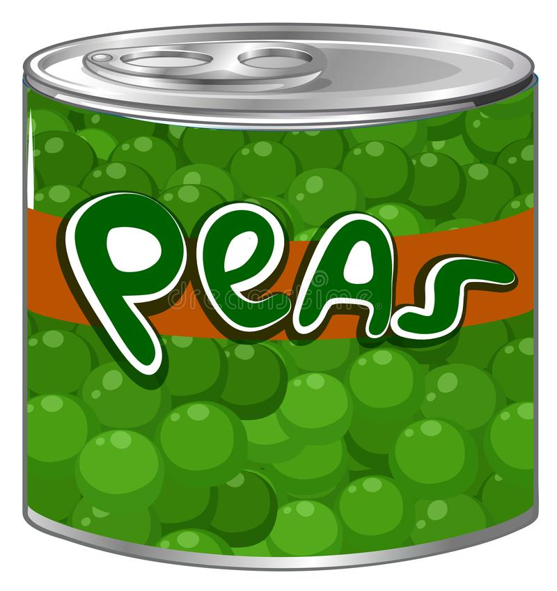 Free Green Peas In Aluminum Can Royalty Free Stock Photo - 108582235