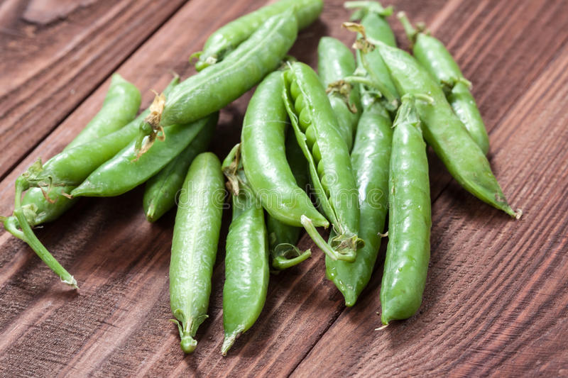 Green peas. royalty free stock images