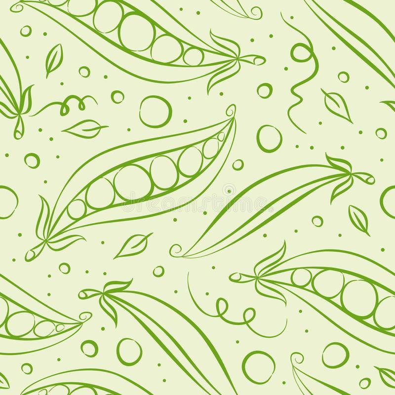 Green peas pattern