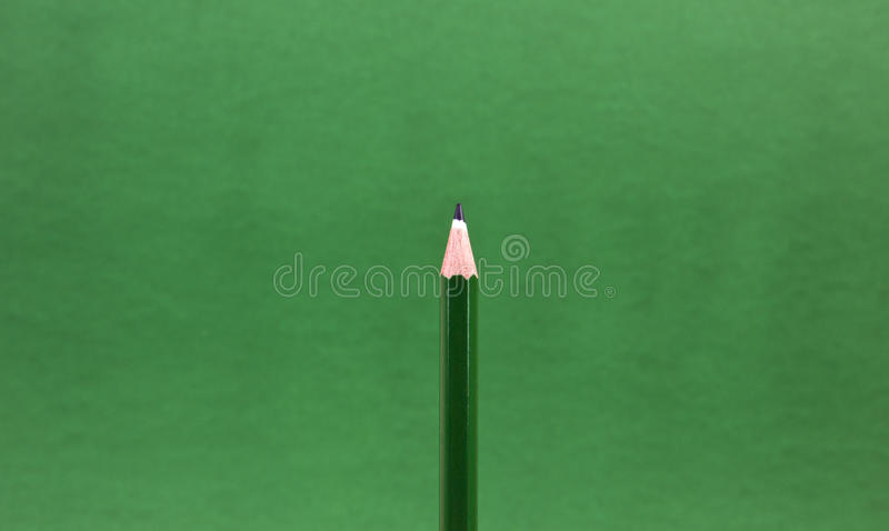 Green pencil tip stock images