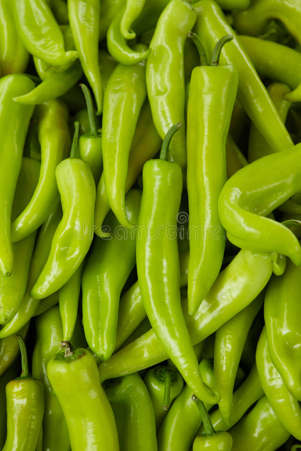 Green pepper background stock photos