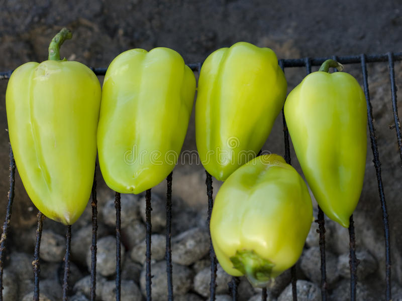 Green pepper BBQ