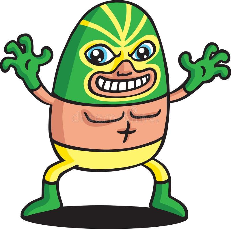 Download Green Phantom Wrestler Stock Photography - Image: 18517722
