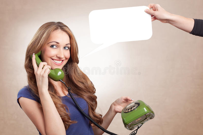 Download Green phone stock photo. Image of portrait, balloon, caucasian - 28485752