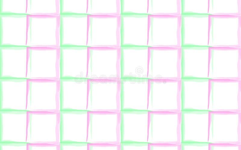 Plaid Vector Pattern royalty free illustration