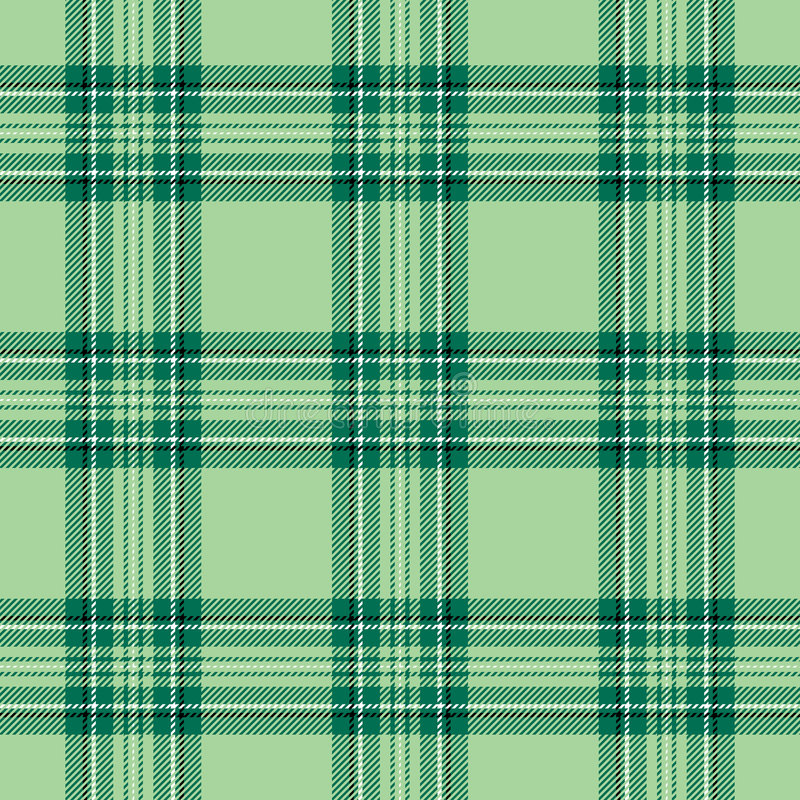 Download Green Plaid stock illustration. Image of checkered, patrick - 8053479