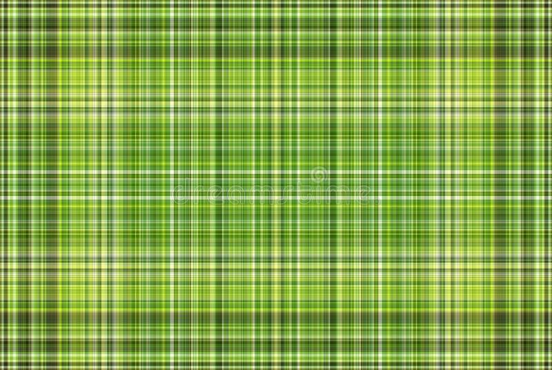 Green Plaid Background stock photo