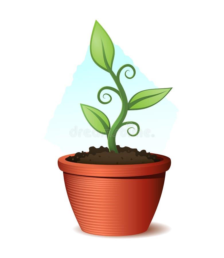 Free Green Plant Illustration Stock Photography - 32743222