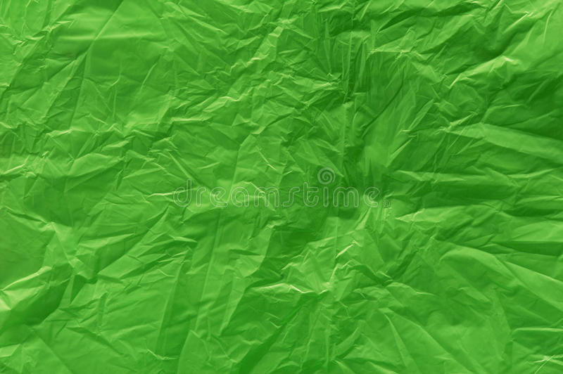A Green Plastic Bag Texture Royalty Free Stock Image